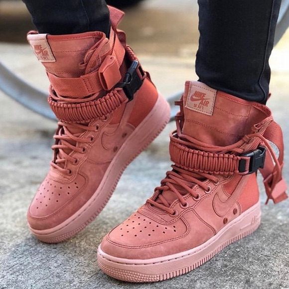 dusty peach air force 1